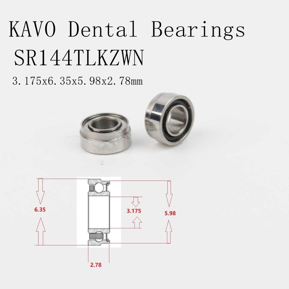 Ceramic dental bearings SR144TLKZWN for KAVO handpiece